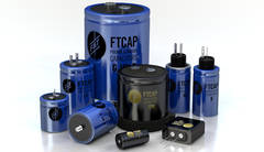 Ftcap capacitors blue